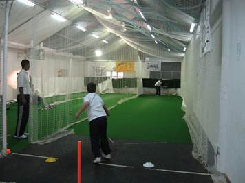 Pre-season cricket training