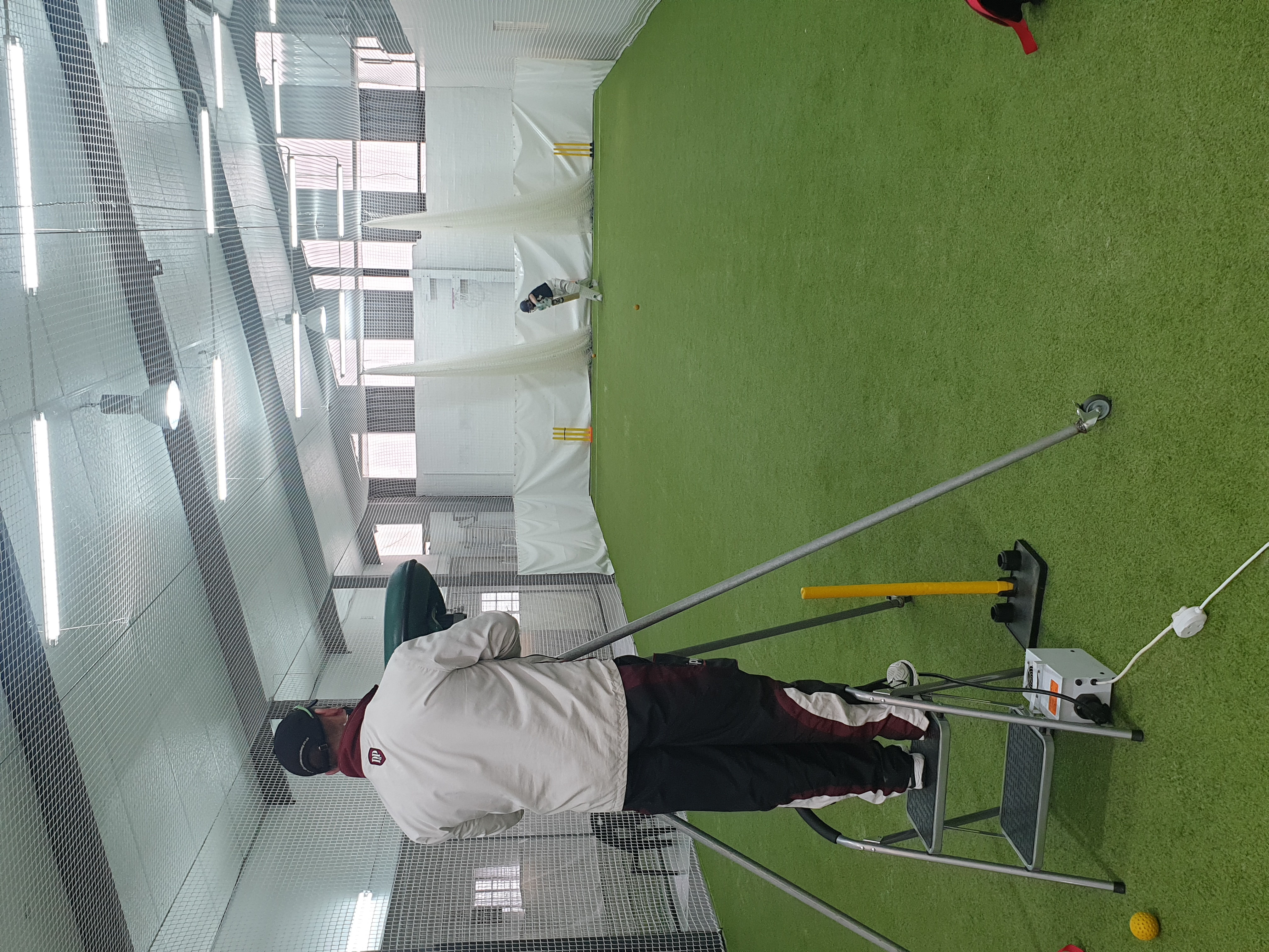 All Rounder Indoor cricket facility rental